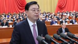 张德江:坚决拥护关于修改宪法的决策部署
