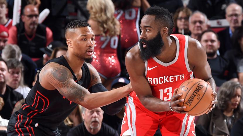 NBA-火箭115-111开拓者