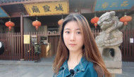 实拍上海古镇城隍庙