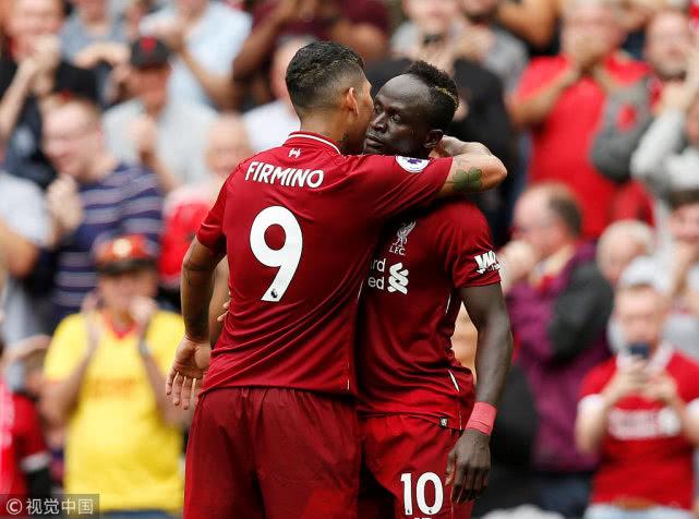 英超第1轮:利物浦4-0西汉姆联