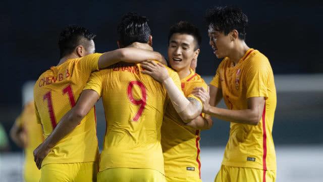 亚运会男足小组赛:中国男足3-0叙利亚