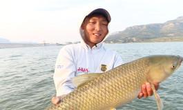 唐村水库浮钓草鱼