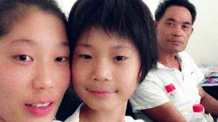 朱婷亲妹妹10岁身高1.6米