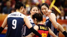 中国女排夺得世锦赛铜牌 朱婷压阵李盈莹爆发