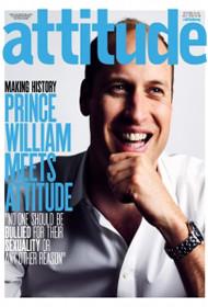 威廉王子登同志杂志封面