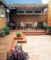 小而精致的庭院装修欣赏