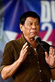 """听菲律宾新总统""""大话南海"""""""