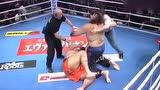 巨人拳手挑战日本相扑手