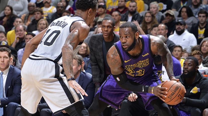 NBA-湖人120-133马刺