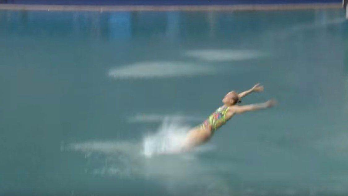 史上最搞笑跳水失误镜头