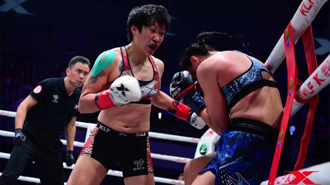 汪柯菡再度KO对手
