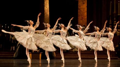 芭蕾群舞名场面