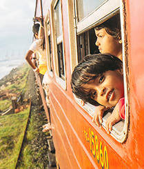 斯里兰卡最美海上火车