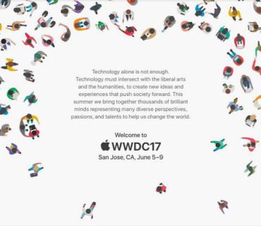 苹果 WWDC 2017 时间确定