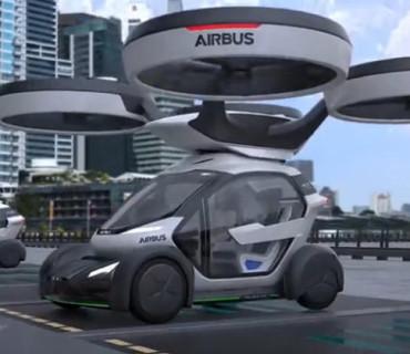 未来黑科技,汽车随时变身无人机