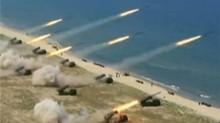 韩美再次举行综合火力演习