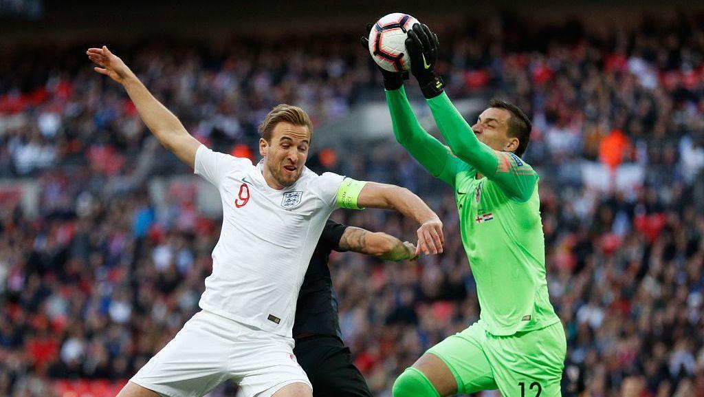 欧国联英格兰2-1克罗地亚