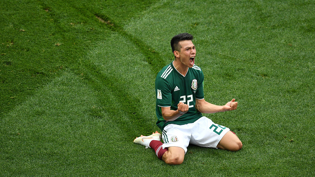 世界杯F组:德国0-1墨西哥