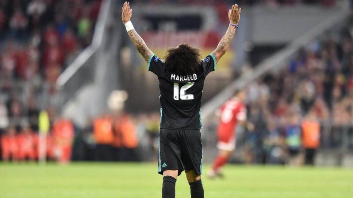 欧冠半决赛-拜仁1-2皇马