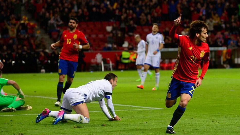 世预赛-西班牙4-1以色列