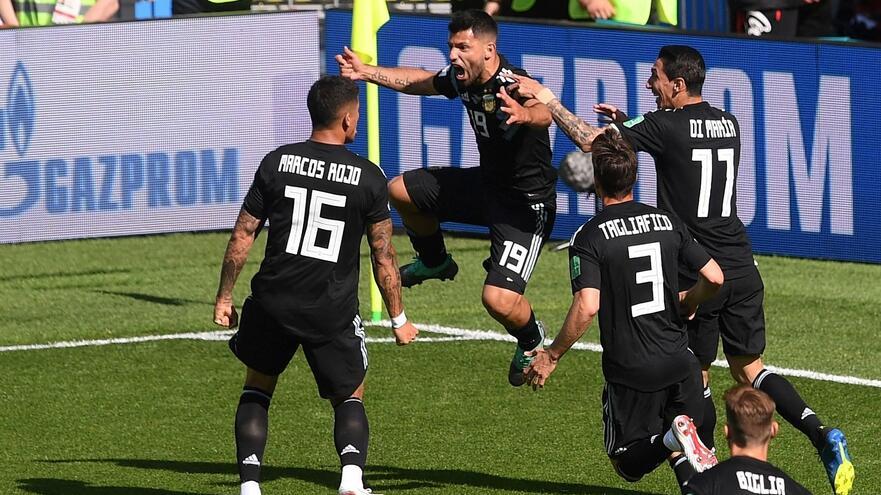 世界杯:阿根廷1-1冰岛