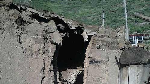 甘肃发生6.6级地震