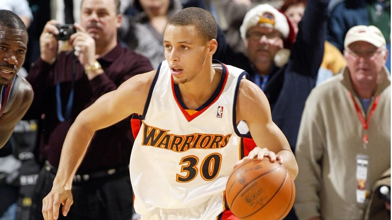 库里NBA生涯首场比赛集锦