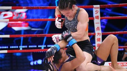 中国猛女暴揍韩国拳手