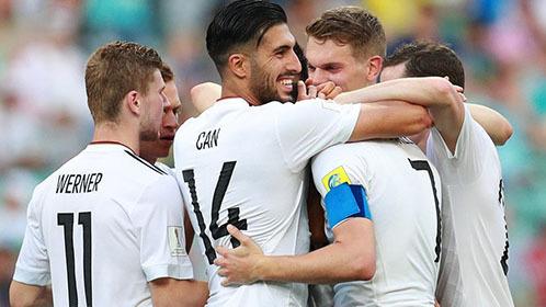 联合会杯德国3-1喀麦隆