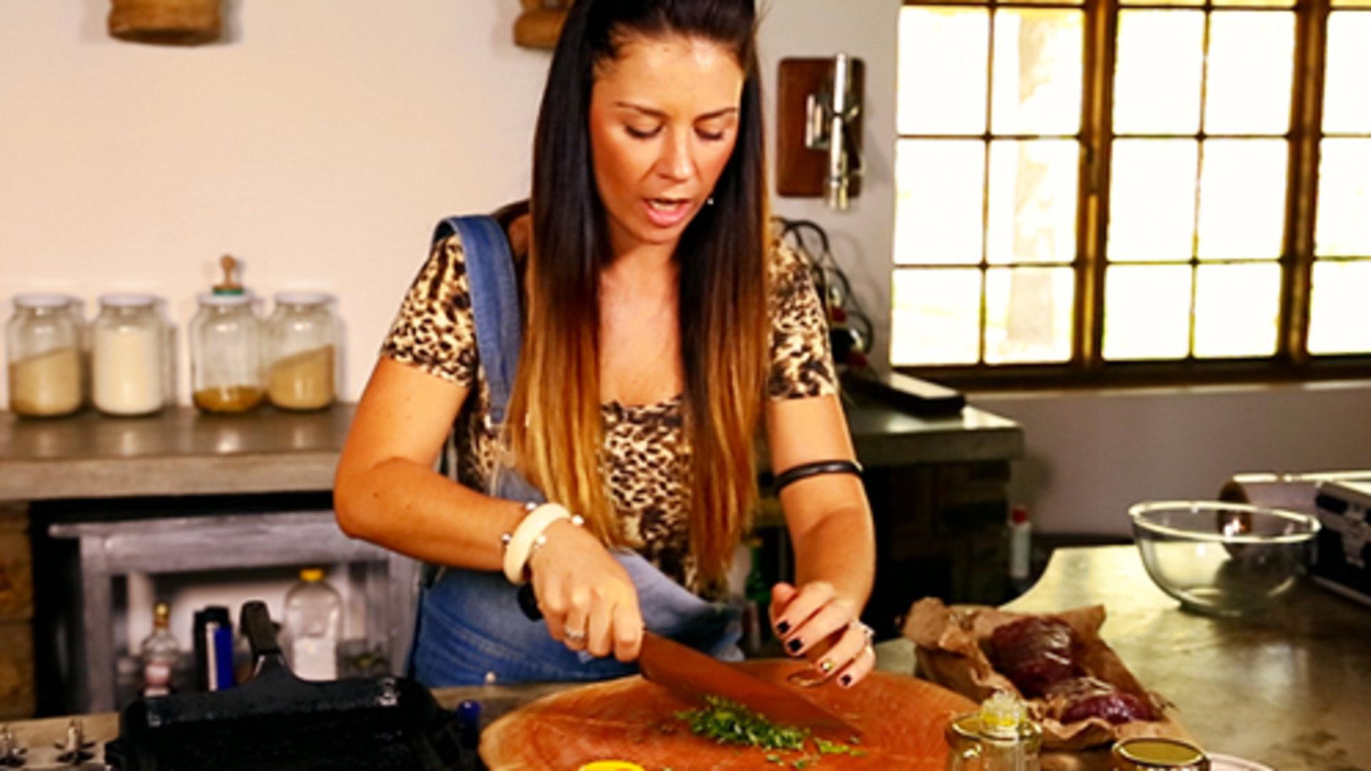 考利-安妮的野外烹饪