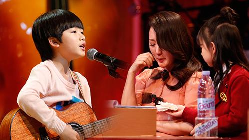 第4期:9岁萌娃《父亲》唱哭杨钰莹