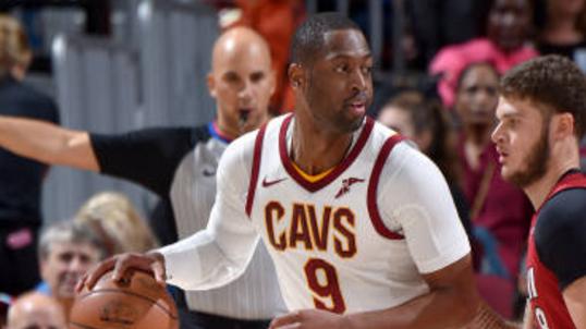 NBA:热火97-108骑士