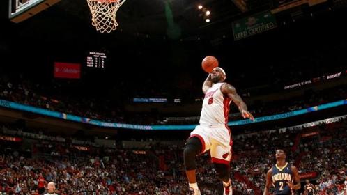 NBA最佳空接:詹皇死亡之扣