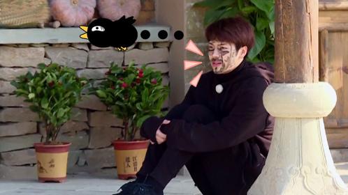 第6期:王嘉尔捣乱受罚被画成熊猫!