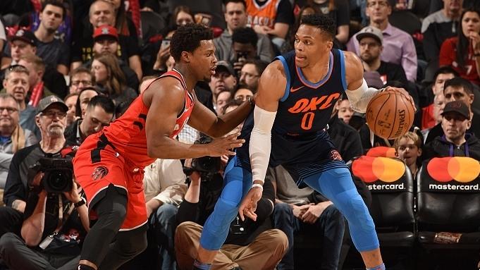 NBA-雷霆132-125猛龙