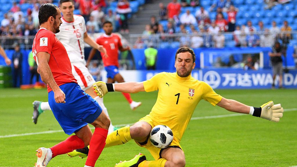 世界杯:哥斯达黎加0-1塞尔维亚