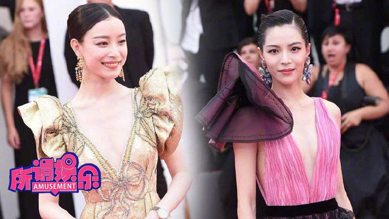 倪妮钟楚曦亮相威尼斯电影节