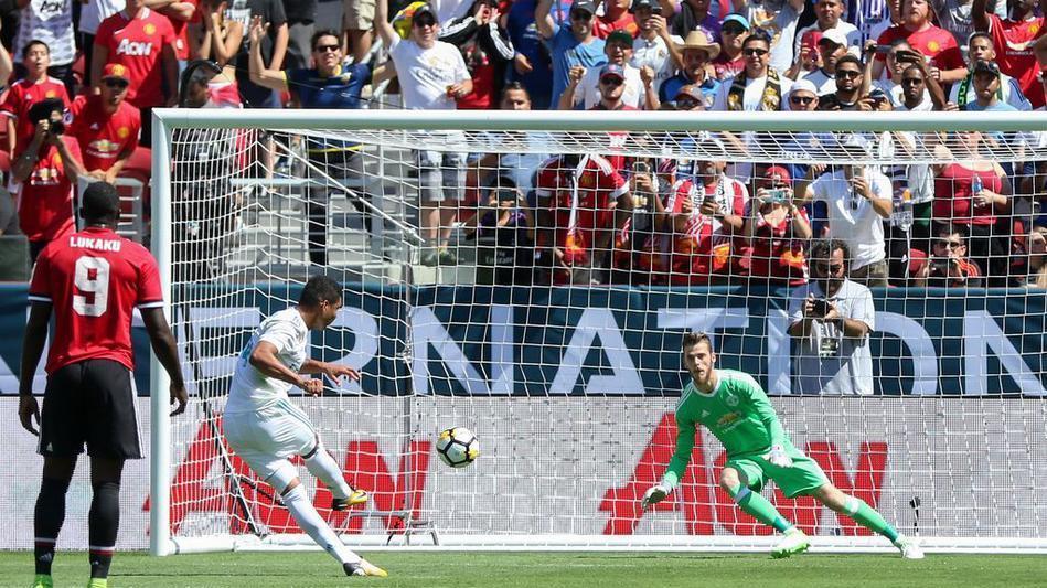 国际冠军杯皇马 2-3曼联