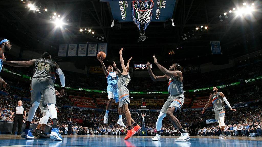 NBA-快船113-121雷霆