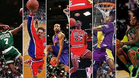 NBA10大逆天垂直起跳暴扣