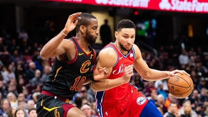 NBA-费城128-105骑士