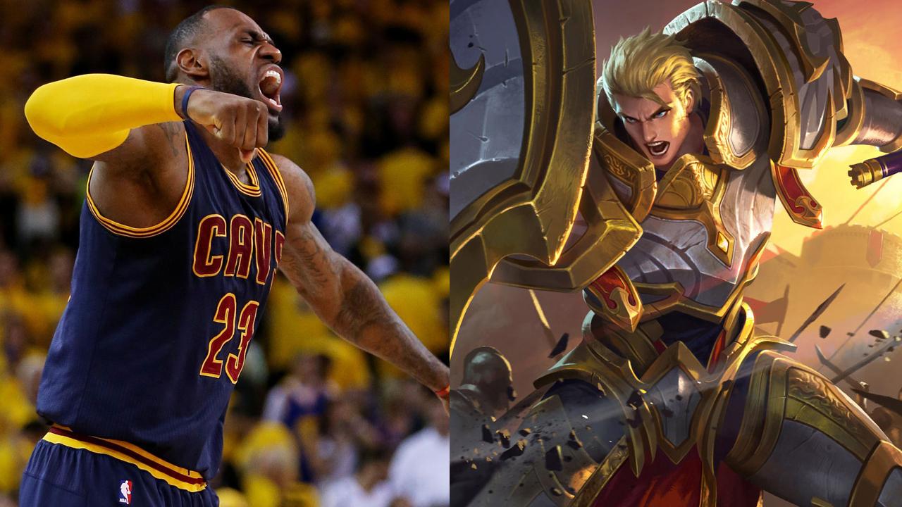 NBA巨星配对王者荣耀英雄