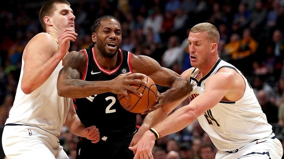 NBA-猛龙86-95掘金
