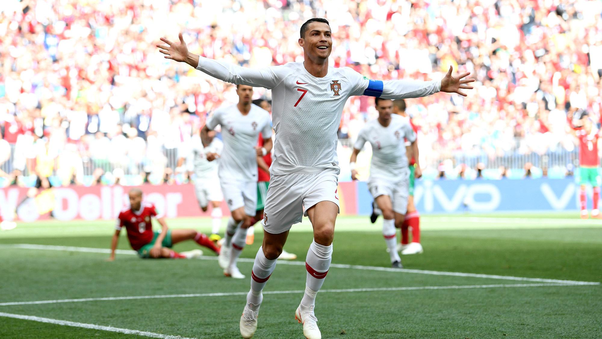 世界杯B组:葡萄牙1-0摩洛哥