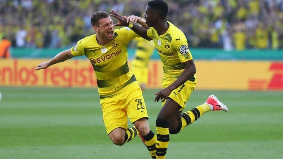 德国杯决赛:法兰克福1-2多特