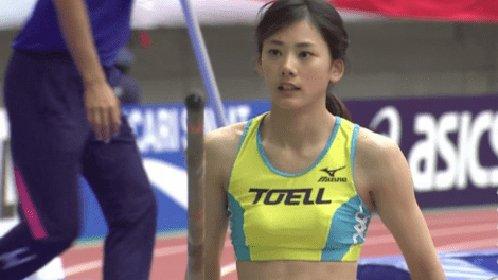 日本最美撑杆跳选手颜值逆天