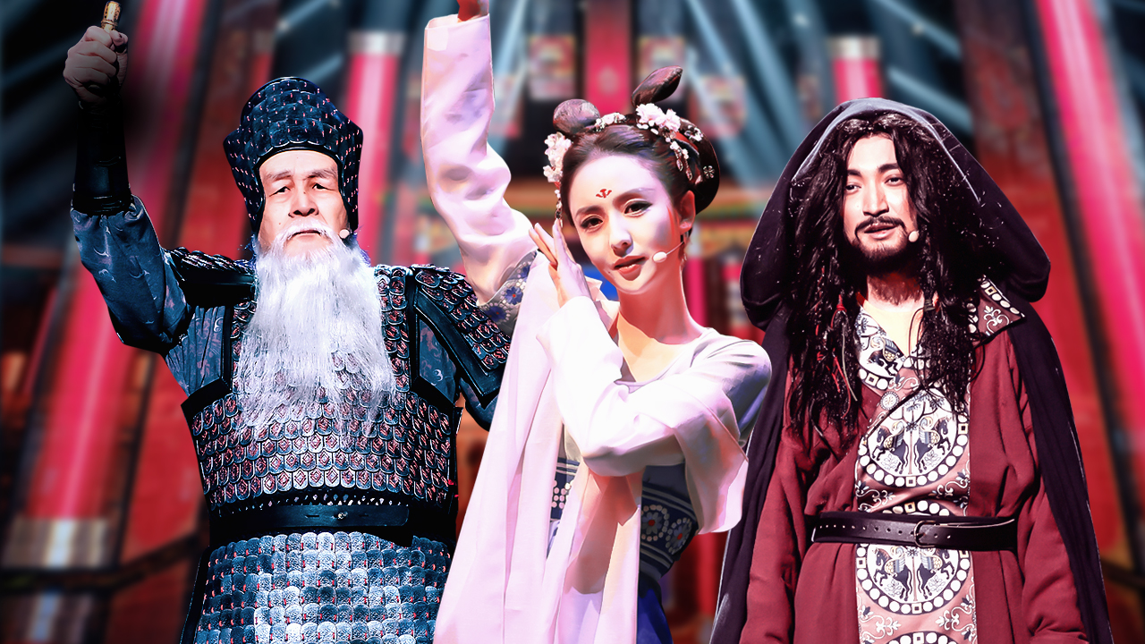 2019-01-13 第6期:佟丽娅穿古装跳舞似仙女