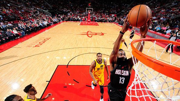 NBA-爵士97-102火箭