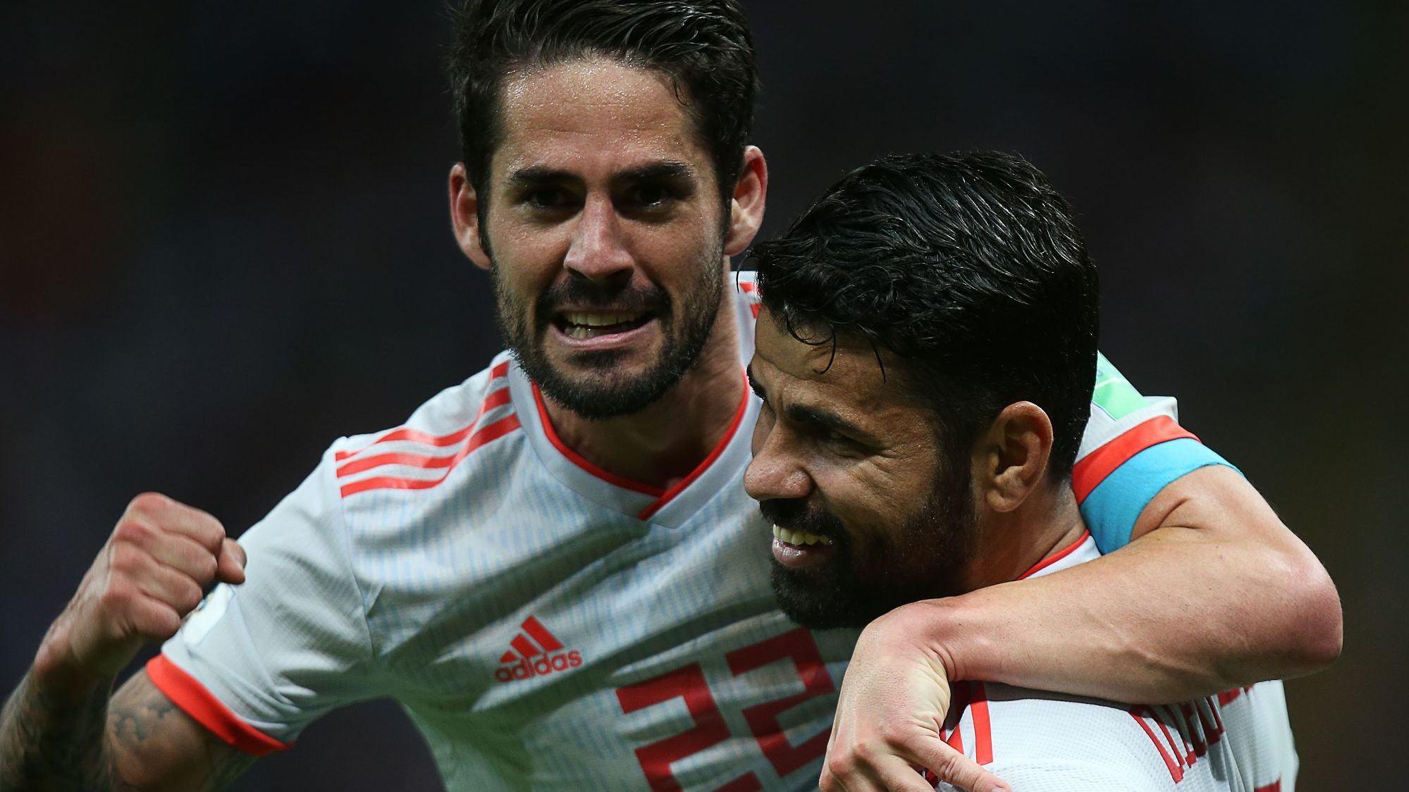 世界杯B组:伊朗0-1西班牙