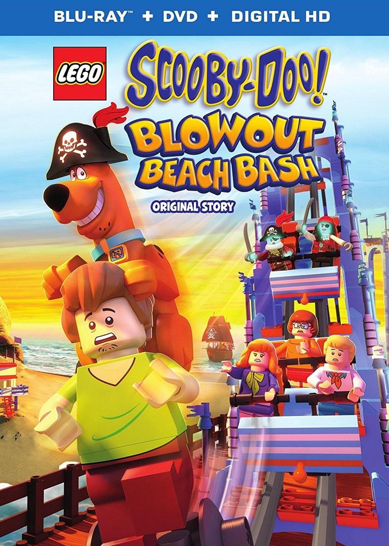 乐高史酷比!狂欢海滩之谜